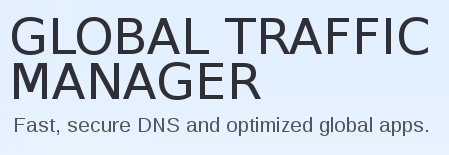 Marketing for F5's 'Global Traffic Manager': 'Fast, secure DNS and optimized global apps'